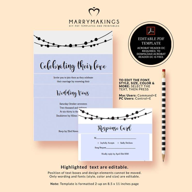 lights pdf,23 editable diy wedding invites diy wedding invite printable invites Invitations string invite template kraft invitation