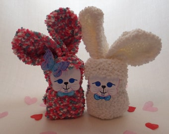 Hot Chocolate Sock Bunny, Hot Chocolate, Bunny, Sock Bunny, Rabbit, Sock Rabbit, birthday gift, Easter gift, Easter Bunny, Easter