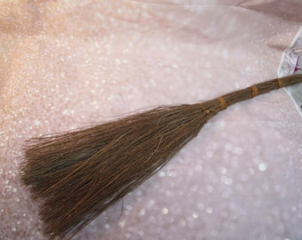 Fall Broom (No Scent) for Door or Fire Place  Decorations - PLEASE READ AD!!!!! For Details - Twig Broom, Stick Broom, Witches Broom