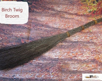 Witch Broom  (No Scent) Made from Birch Twigs -  Besom Broom, Wiccan Broom, Witches Broom, Jumping Broom - PLEASE READ AD!!! for details