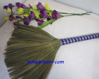 Undecorated Fan Shaped Wedding Broom - Jump The Broom at Your Wedding // DIY // Decorate the Way YOU Want!   ***READ Ad for Complete Details