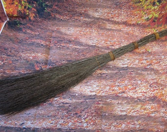 Fall Twig Broom (No Scent)  Great for Door or Fireplace Decorations,  Besom Broom,   **PLEASE READ AD!!!!! For Details