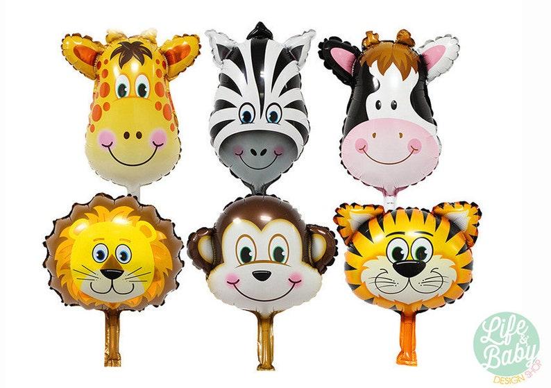 Animal Balloons  Tiger Balloon  Lion Balloon  Monkey image 0