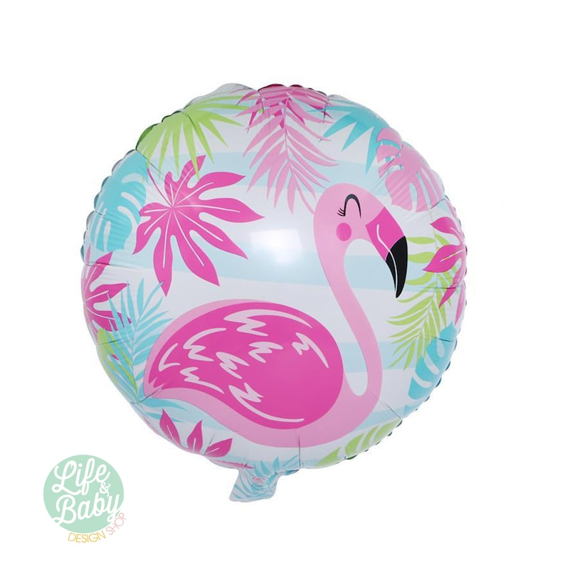 Flamingo  Balloon  Flamingo Mylar Balloon  image 0