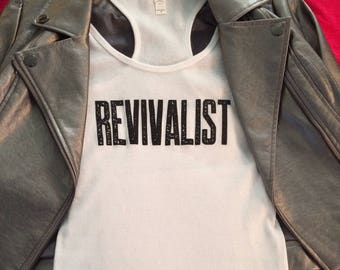 New - Ladies Revivalist 'Devil Beater' Tank Top!