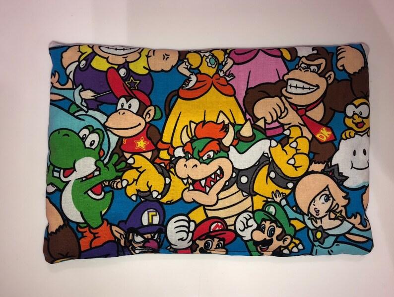 Mario Brothers All Stars catnip mat image 0