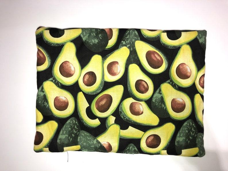 Avocado print catnip mat image 0