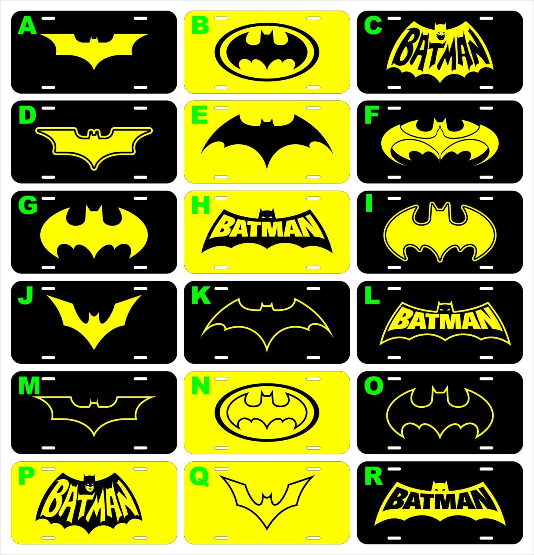 Batman Batmobil meine anderen Auto verschiedene Aluminium | Etsy