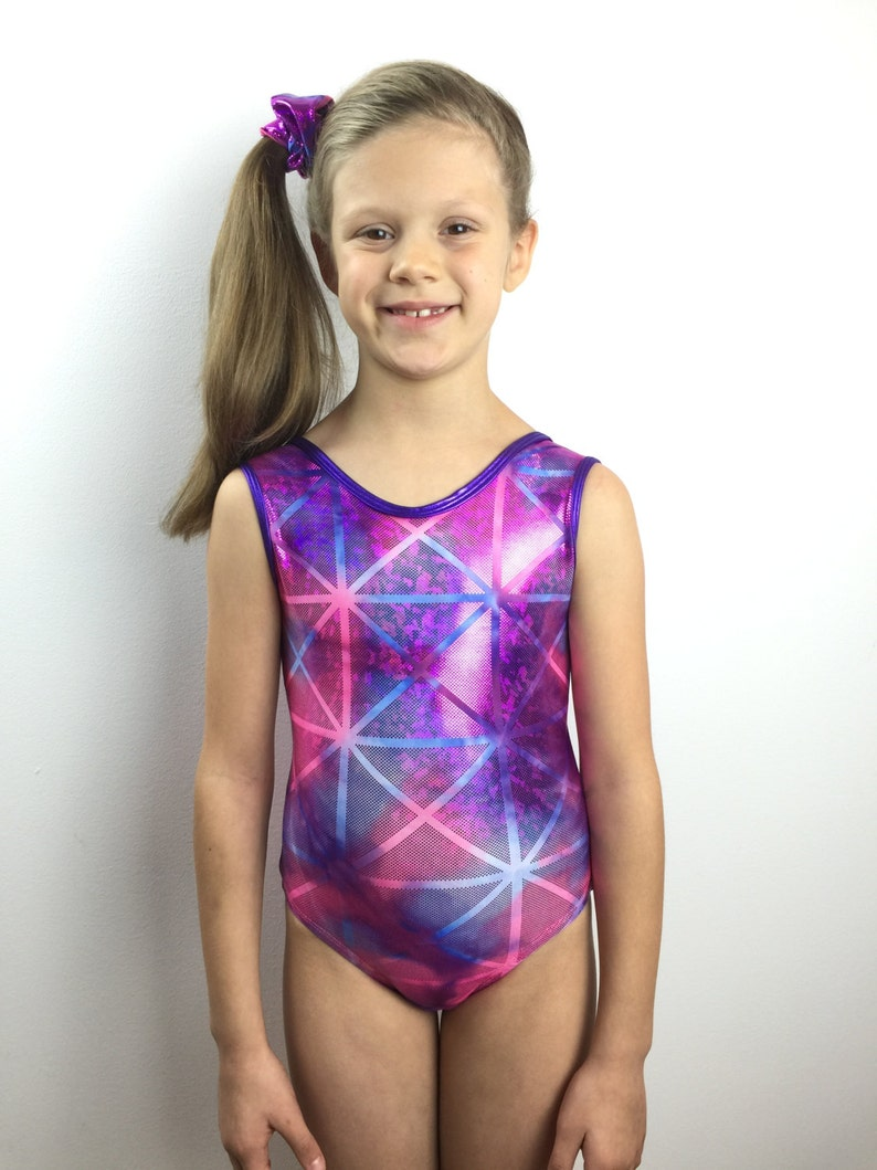 4d4ae05278d7 Gymnastics Leotard Sparkly Leotard Girls Leotard Pink