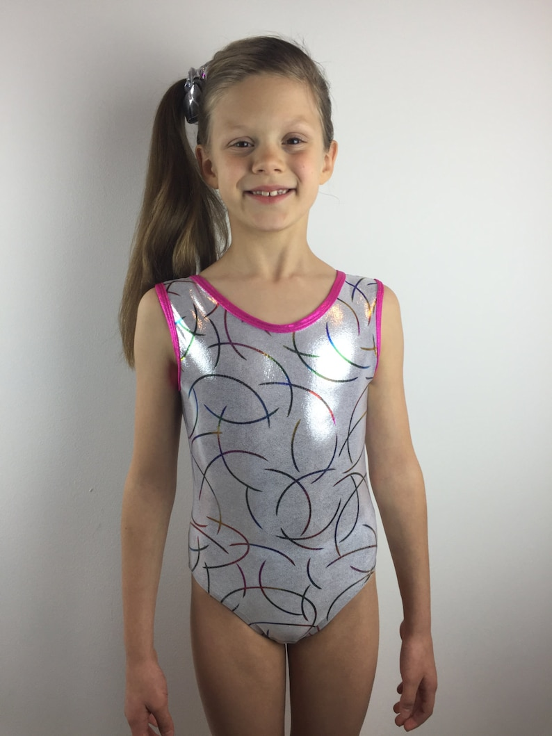 112f92331201 Gymnastics Leotard Sparkly Leotard Girls Leotard Shiny