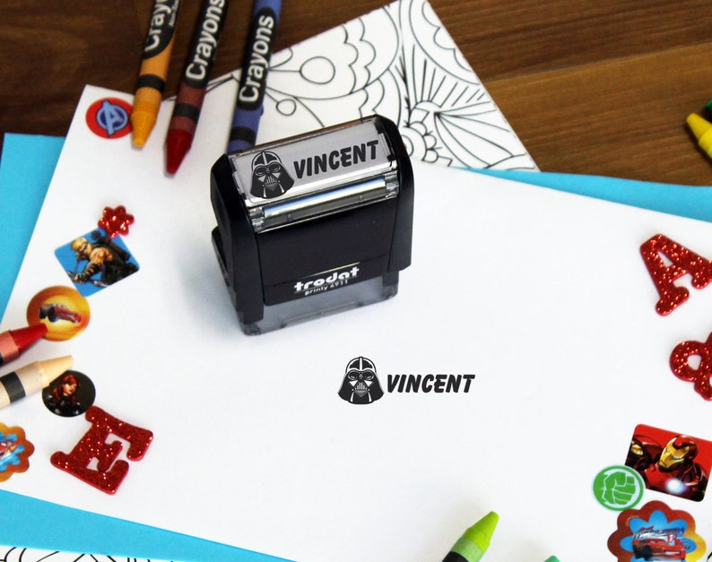 Custom Easter Gift Personalized kids stamp Kid Stamp --SI-4911-Vincent Personalized Kid stamp Custom Name Stamp custom kid name stamp