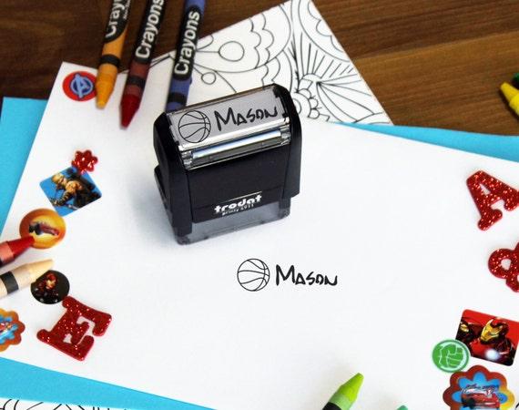 Personalized Kids Stamp Custom Kid Name Easter