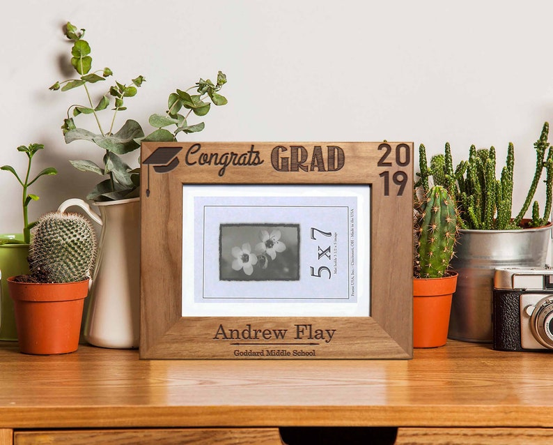 Gifts for the Grad Custom Graduation Gifts Personalized Graduation Picture Frame Graduation Picture Frame Grad Gift --PF-ALD-ANDREW