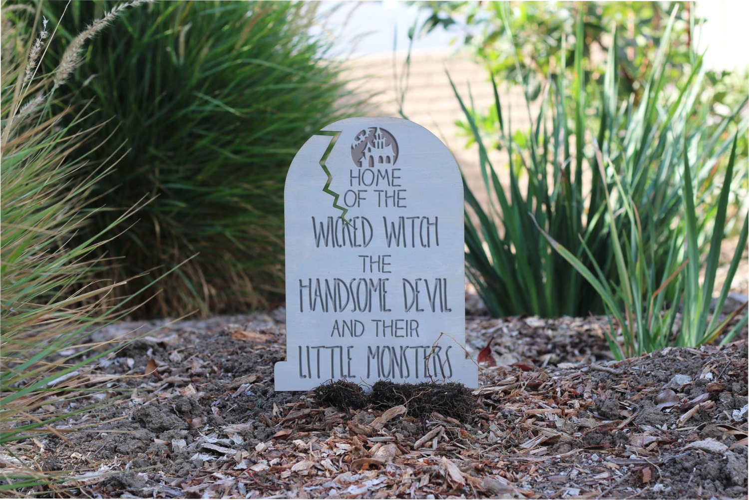 halloween tombstone custom funny yard decoration garden | etsy