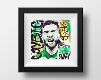 Shane Duffy Ireland COYBIG Art Print Poster