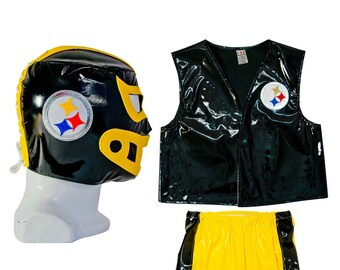 NFL Teams Halloween Lucha Libre Luchador Complete Kid Costume Set c0efeaa4c
