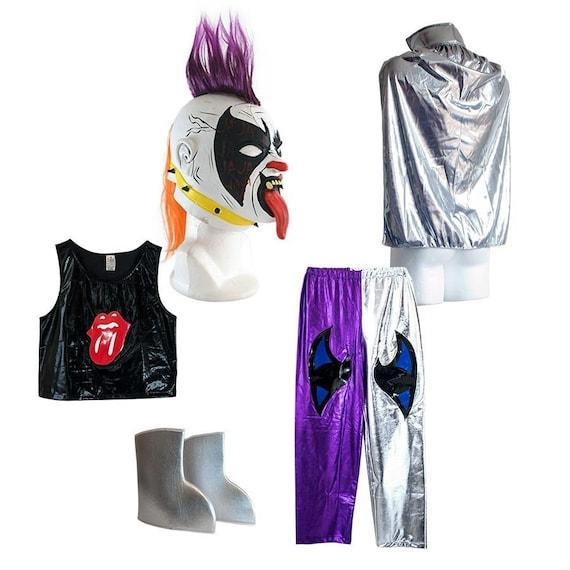 Shark Boy Halloween Lucha Libre Luchador Complete Adult Costume Set