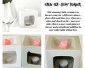 Talin Ceramic Tea light Wax Burner