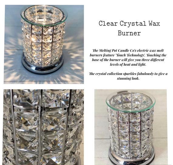 Crystal Wax Burner Touch Lamp Electric Wax Melt Burner Wax Etsy