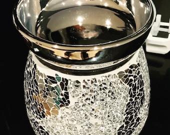 Silver Cracker Electric Wax Melt Burner Wax Melt Warmer