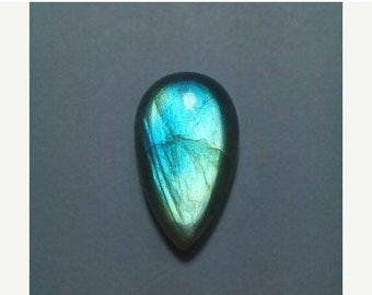 61% OFF SALE Blue Labradorite Pear Shape Cabochon