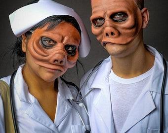 Twilight Zone Eye of the Beholder Doctor Mask