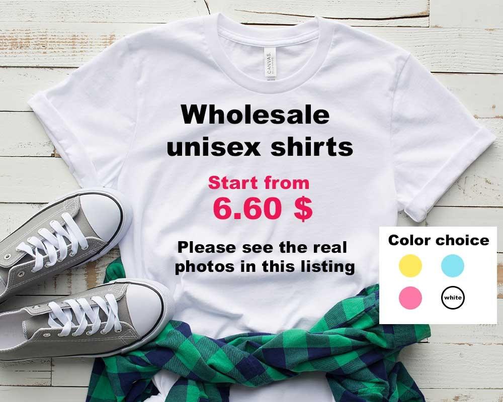 Wholesale Shirts Bulk Tshirts Bulk Custom Tshirts Team Etsy