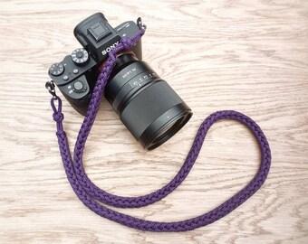 DSLR Cameras PGUK Brand 1 Neck Strap /& 1 Wrist Strap 1m Long Hand Woven 77 Colors Rop Camera Strap Paracord Camera Strap Bundle