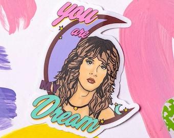 254d3c72e Stevie Nicks Sticker, Fleetwood Mac sticker, classic rock sticker, Stevie  nicks art, stevie nicks merchandise, mothers day