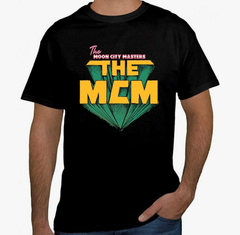 PRE SALE: Moon City Masters Retro T Shirt  SHIPS 7/14 band image 0