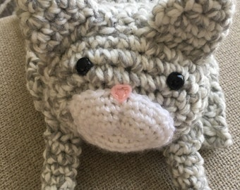 Crocheted Cat Scarf