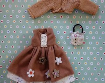 Country Garden Flower Dress Set * Blythe * Pullip *