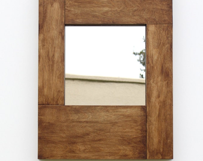 Mirror with Hidden Storage