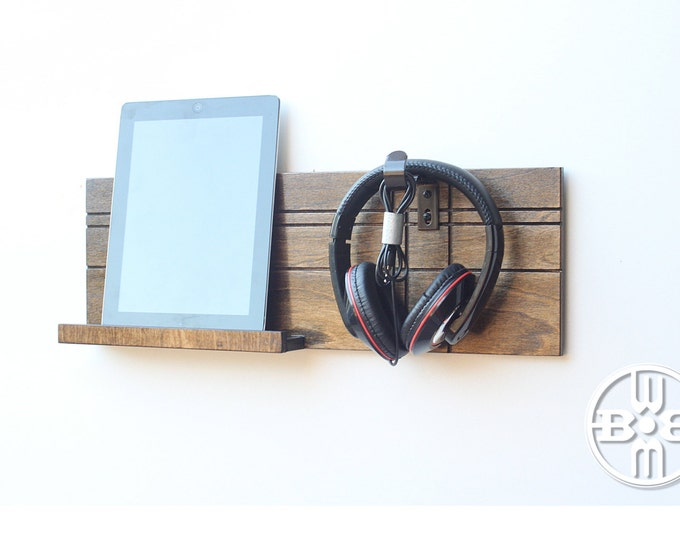 Headphone and iPad Holder