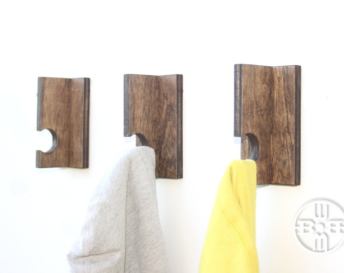 Coat Hooks (Set of 3)