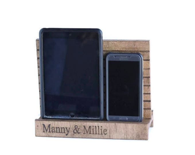 Docking Station for iPad and Cell Phone