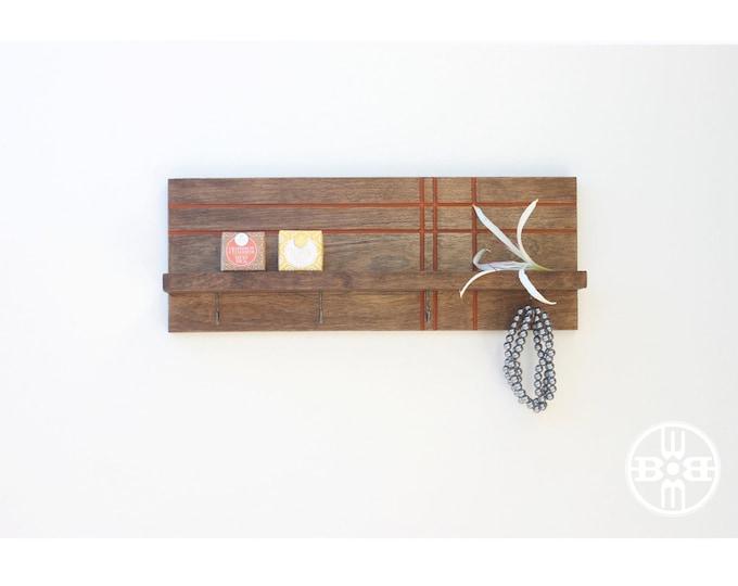 Key Rack With Shelf