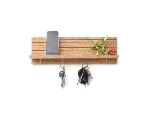 Key Rack Entryway Organizer Key Holder For Wall Gift For Etsy