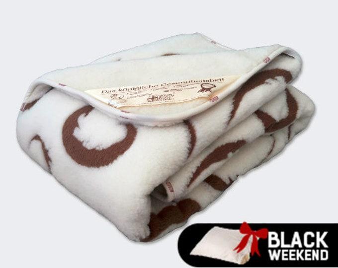 Merino Wool Blanket, Wedding Gift, Wool Duvet Cover, Soft Blanket, Baby Blanket, Hypoallergenic Blanket, Throw Blanket, Pattern Blanket