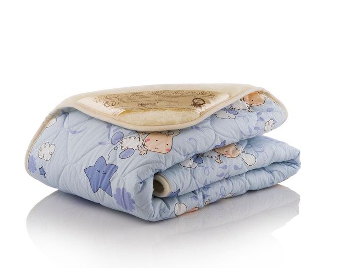 Wool Blanket, Kids Blanket, Winter Blanket, Hypoallergenic Blanket, Soft Blanket, Merino Wool Blanket, Baby Blanket, Toddler Blanket