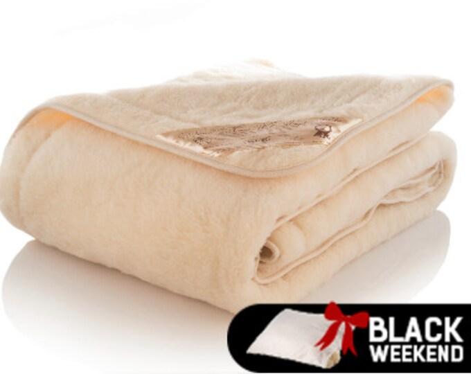 Merino Wool Blanket, Stay Home Fluffy Blanket, Wool Duvet Cover, King Size Blanket, Baby Blanket, Cosy Blanket, Winter Blanket, Cal. King