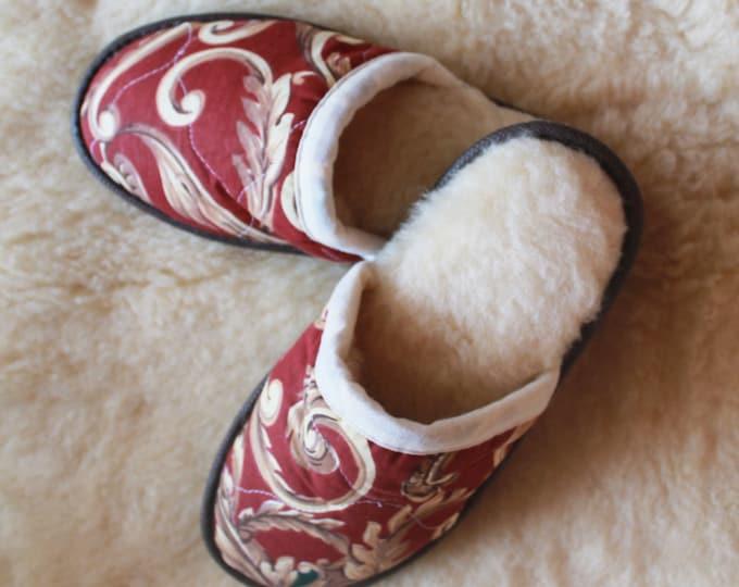 Wool Slippers, House Slippers, Unisex Slippers, Home Slippers, Warm Slippers, Comfy Slippers, Birthday Gift, Gift For Him,Housewarming Gift