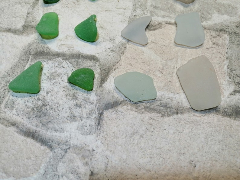 16 pcs Genuine Sea Glass Bulk Mix Colors Small Sea Glass Beach Glass Sea Glass Art Crafts Mosaic Beach Decor Sea Treasures from Black Sea