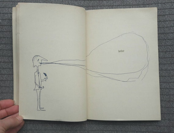 The Penguin John Lennon 1966 Book Drawings Poems Satire Etsy