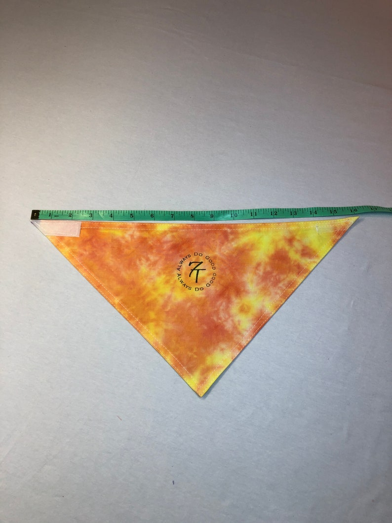 Dog Bandana Tie Dyed Custom Colors Bandanna