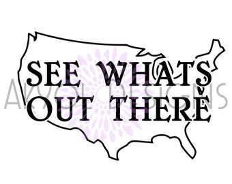 See whats out there decal