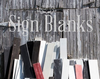 Sign Blanks / DIY Sign / Craft Supplies / Distressed Boards / Painting Supplies / Art Supplies / DIY Craft / Do It Yourself Sign / Farmhouse