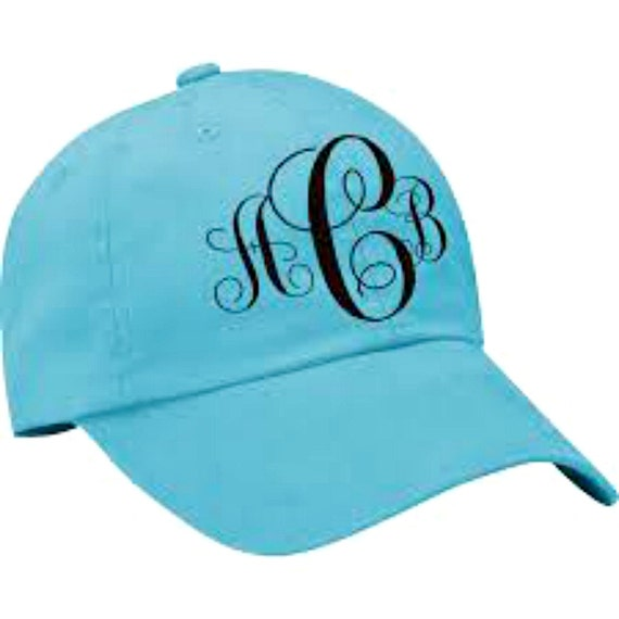 Monogrammed Adams 6-Panel Low-Profile Washed Pigment-Dyed Cap  c80c85d2aa2a