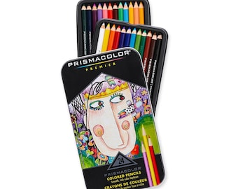 24 Prismacolor Premier Colored Pencils | Prismacolor Pencils, Gifts for Artists, Pencil Set, Drawing, Coloring, Color Pencils, Artist Gift