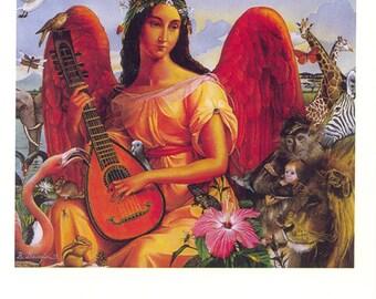 Heaven on Earth blank note card